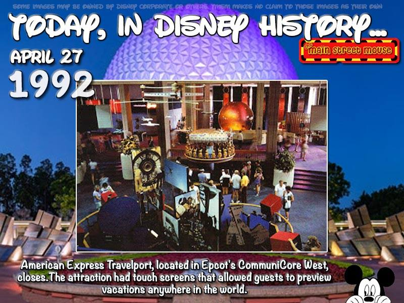 Today In Disney History ~ April 27th 5