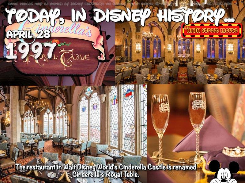 Today In Disney History ~ April 28th 2