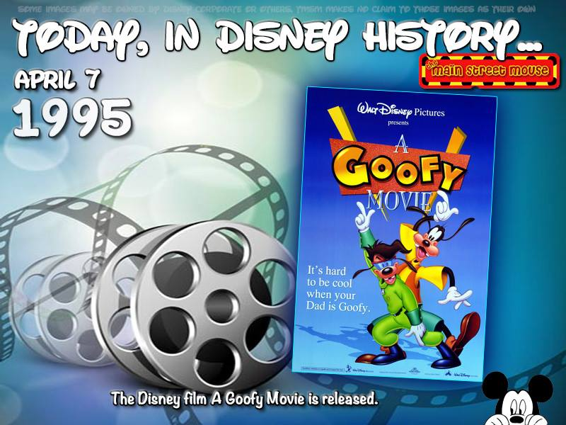 Today In Disney History ~ April 7th 7