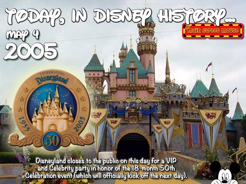 Today In Disney History ~ May 4th 11