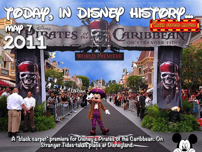 Today In Disney History ~ May 7th 2