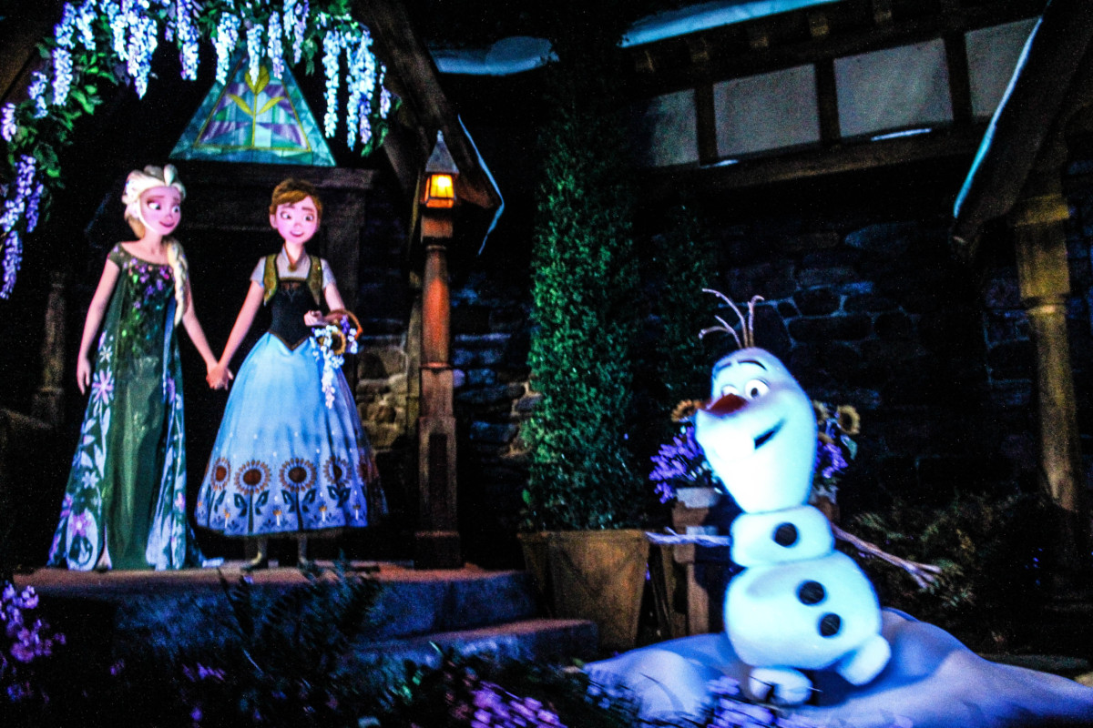 Another look at Frozen Ever After at Epcot (video below) 2