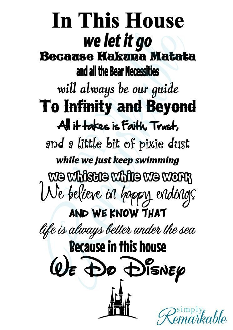 Disney Wall Stickers For Decorating Your Home 2