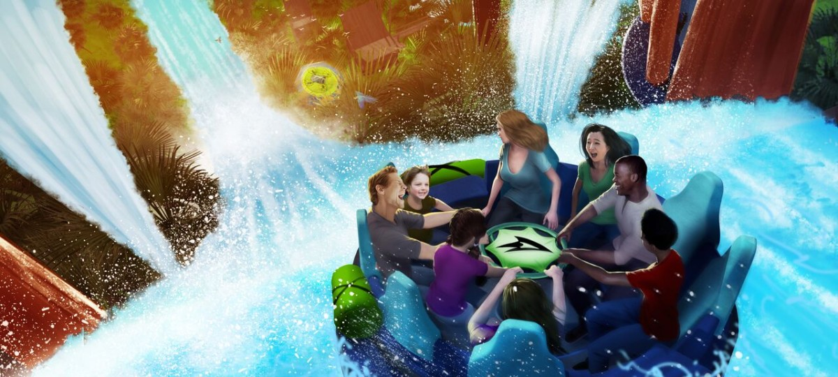 SeaWorld Orlando is Ready to Rush the Rapids with Infinity Falls in 2018 29
