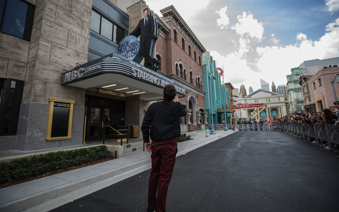 Jimmy Fallon Tours His Brand New Attraction At Universal Orlando Resort 2
