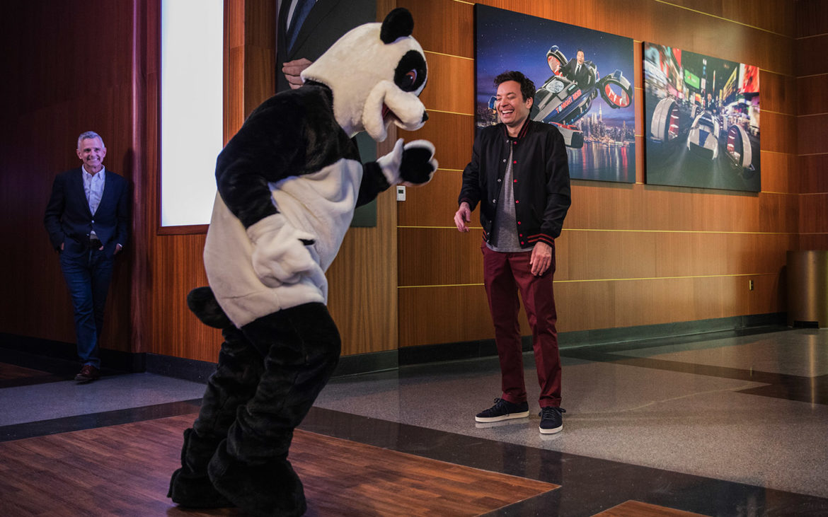 Jimmy Fallon Tours His Brand New Attraction At Universal Orlando Resort 6
