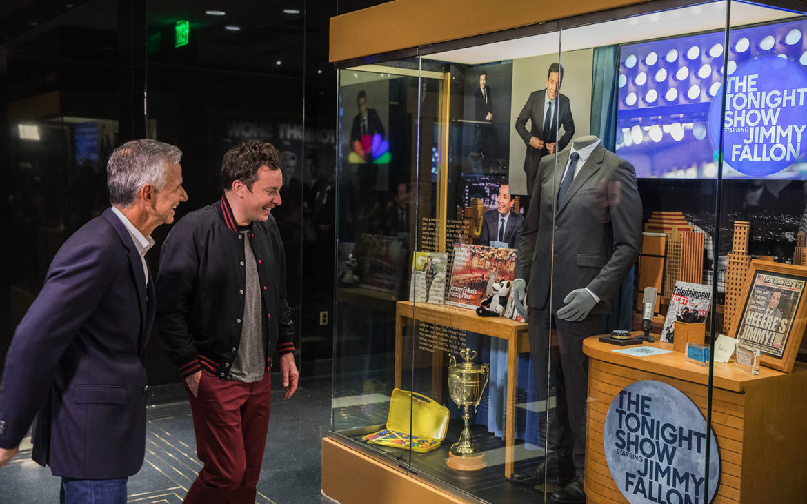 Jimmy Fallon Tours His Brand New Attraction At Universal Orlando Resort 5