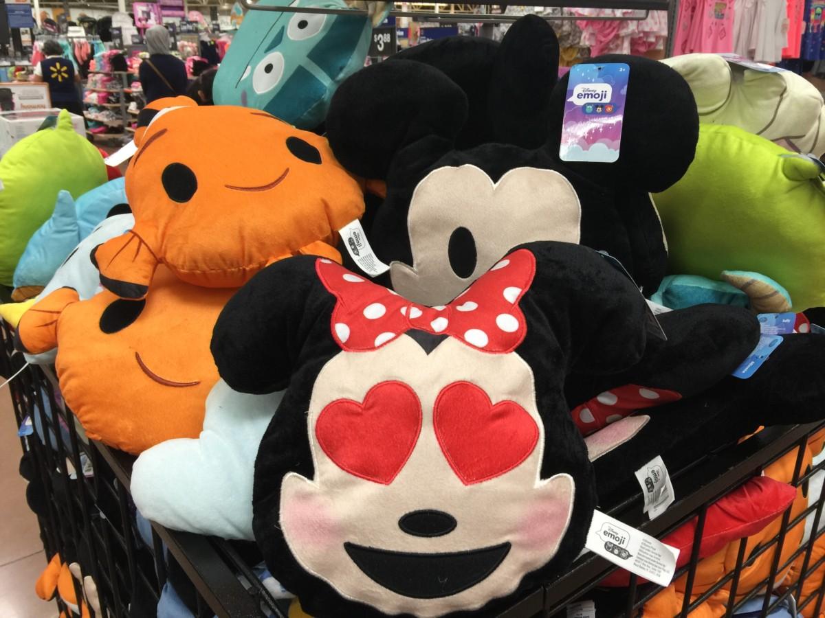 New Disney Emoji Pillows At Walmart