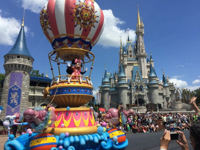 Wide Angle HD View of Disney's Festival of Fantasy Parade! (video) 6