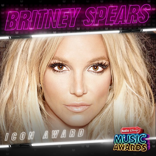 Britney Spears to Receive Icon Award at Radio Disney Music Awards! 1
