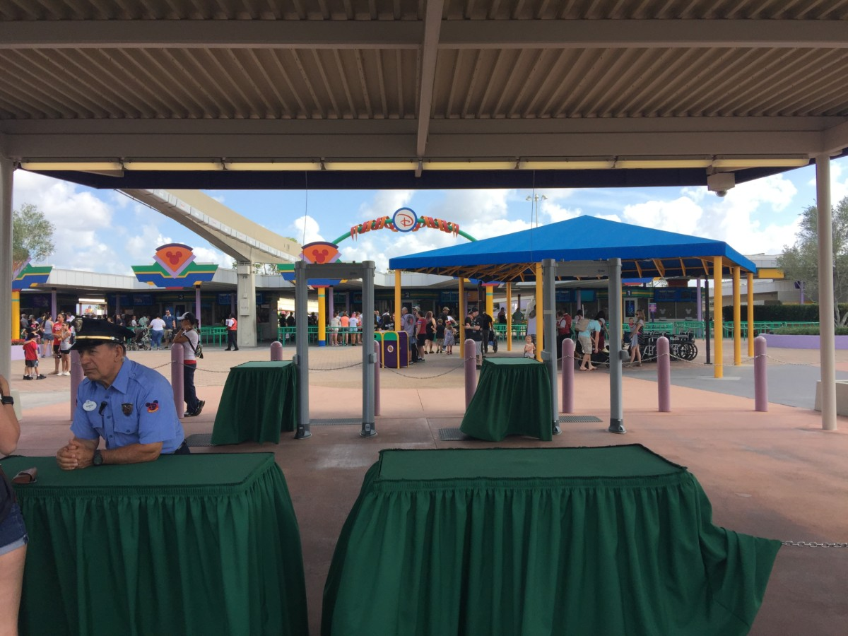 The New Magic Kingdom Security Check Points ~ And why it's better! 13