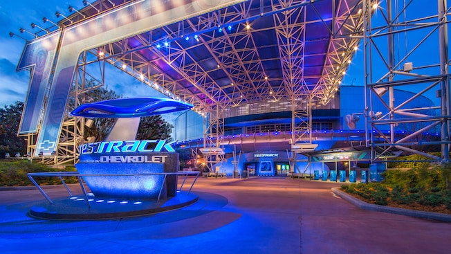 Take a Ride on Test Track at Epcot in HD! 8