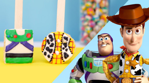Toy Story Inspired Rice Crispy Pops ~ Recipe 2