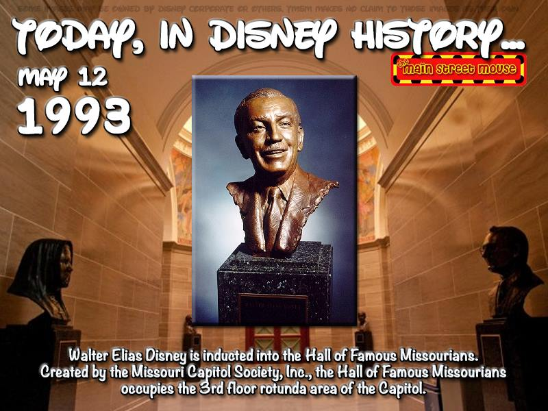 Today In Disney History ~ May 12th 4