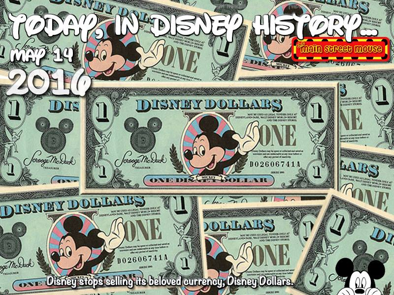 Today In Disney History ~ May 14th 1