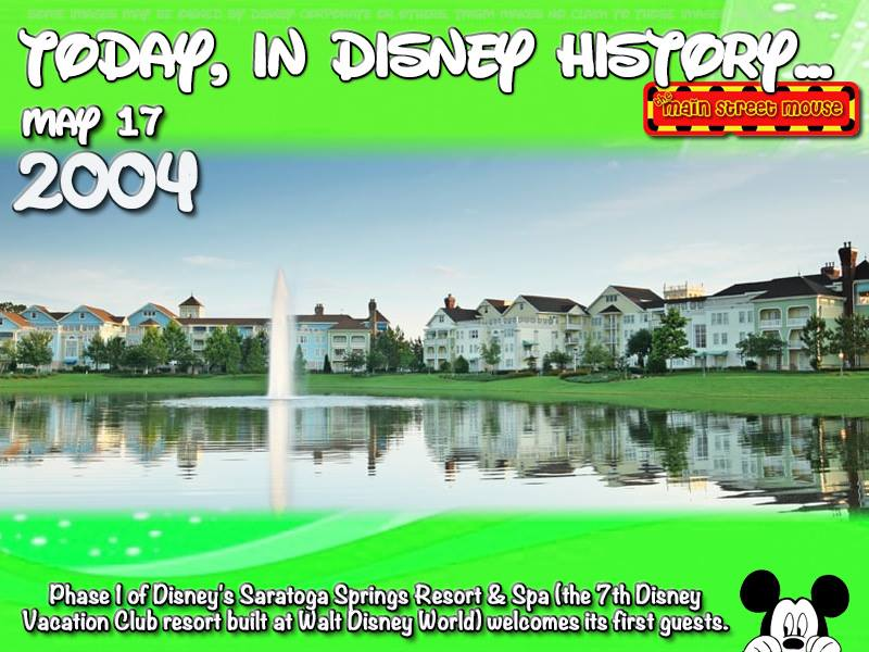 Today In Disney History ~ May 17th 6
