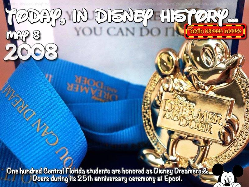Today In Disney History ~ May 8th 3