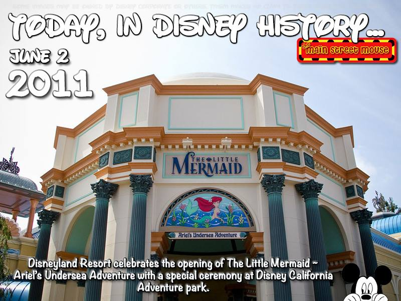 Today In Disney History ~ June 2nd 4