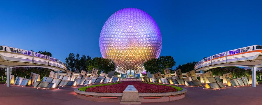 This Week in Disney Parks Photos: Voices of Liberty Celebrate Epcot's 35th 5