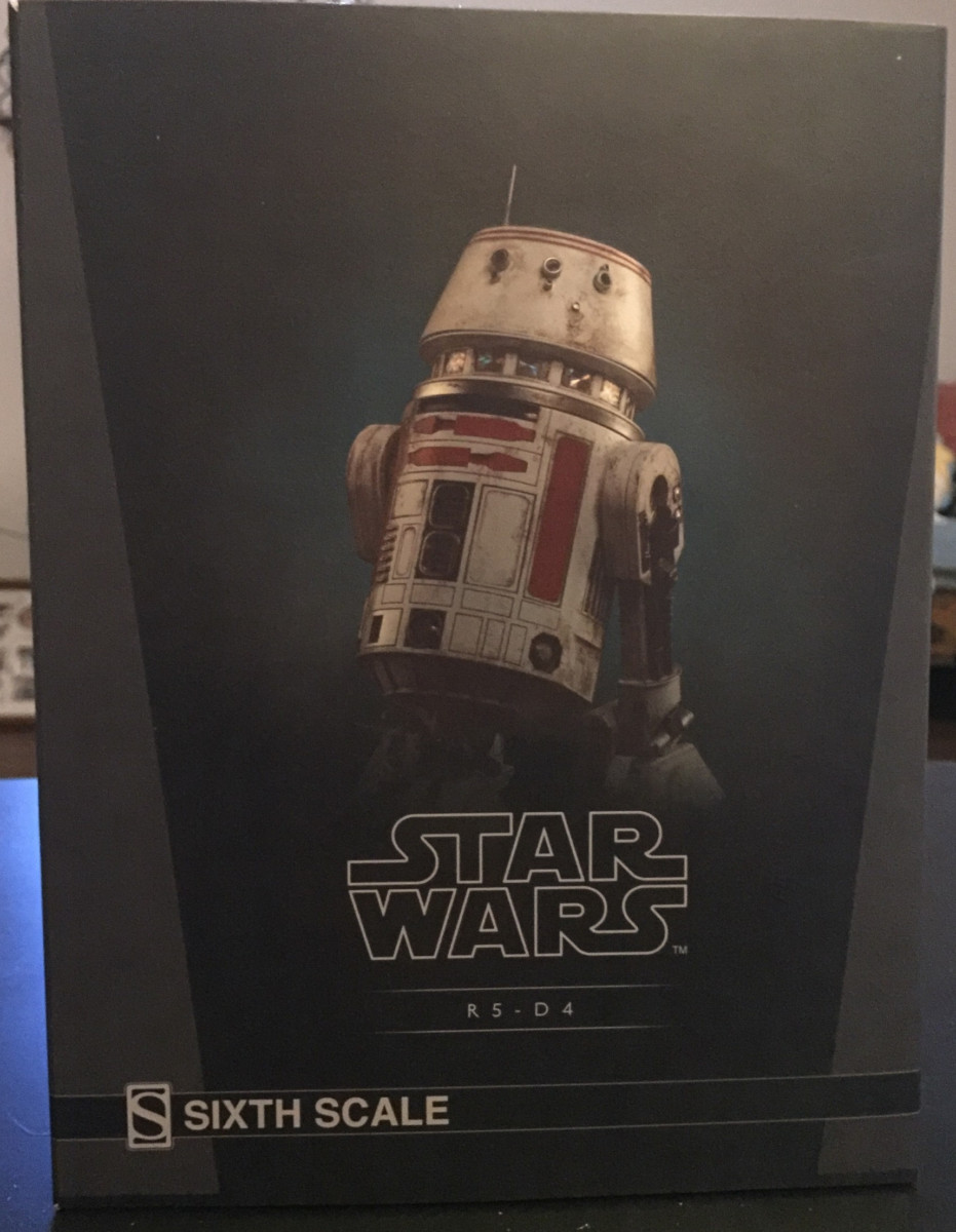 Product Review: Star Wars R5-D4 Sixth Scale Figure From SIDESHOW 3