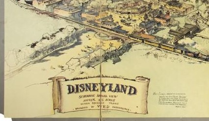 Original Disneyland Map Going Up For Auction 32