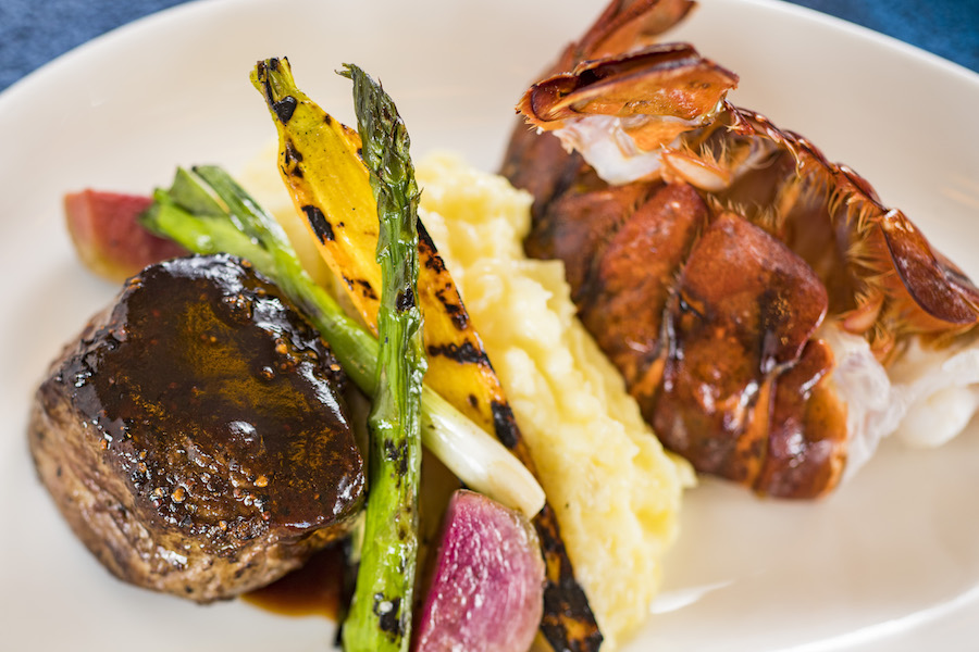 Surf and Turf from Narcoossee's at Disney's Grand Floridian Resort & Spa