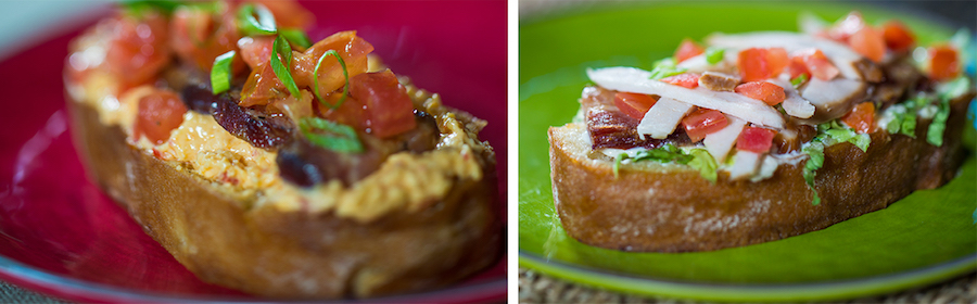 Open-Faced BLT Sandwiches from The Smiling Crocodile at Disney's Animal Kingdom