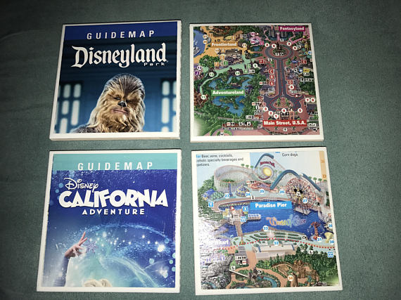 NEW in our TMSM Emporium! Disney Ceramic Drink Coasters! Including Pandora & Walt! 10