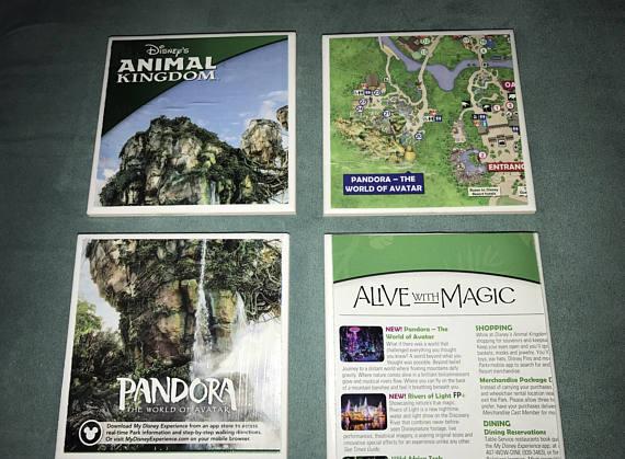 NEW in our TMSM Emporium! Disney Ceramic Drink Coasters! Including Pandora & Walt! 2