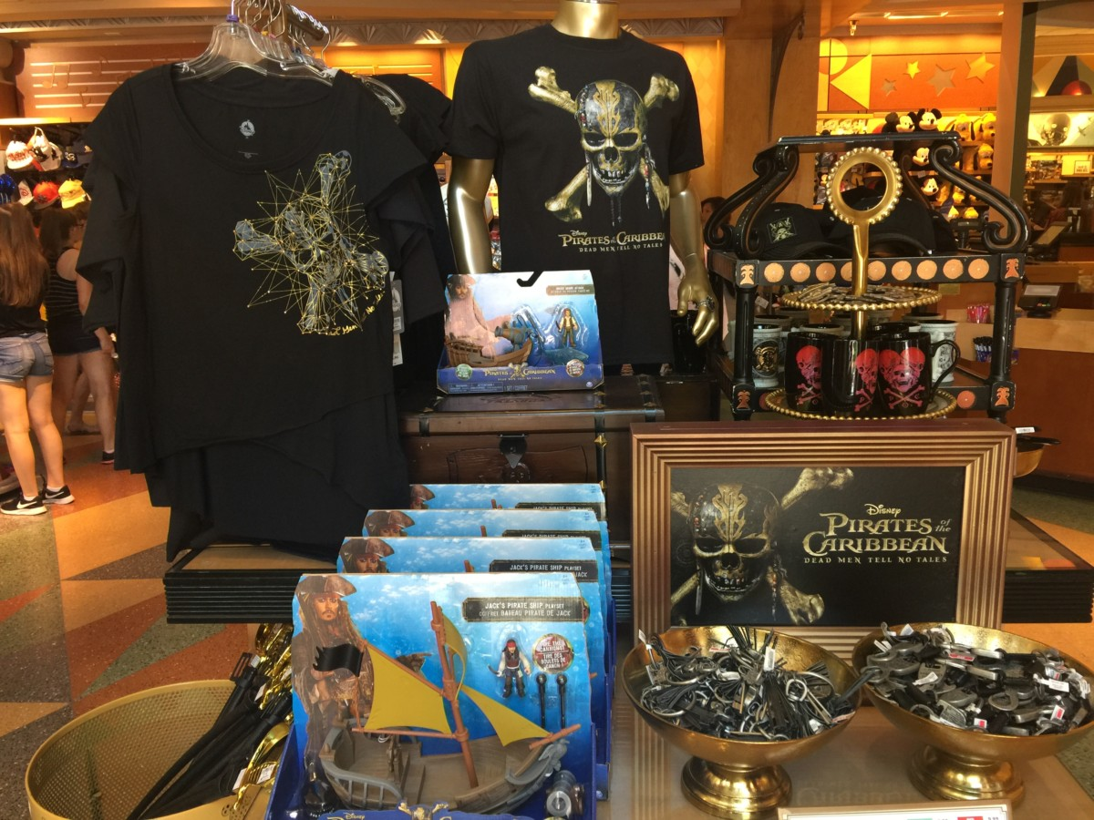 New Pirates of the Caribbean, Dead Men Tell No Tales Merchandise Hits Disney Parks! 2