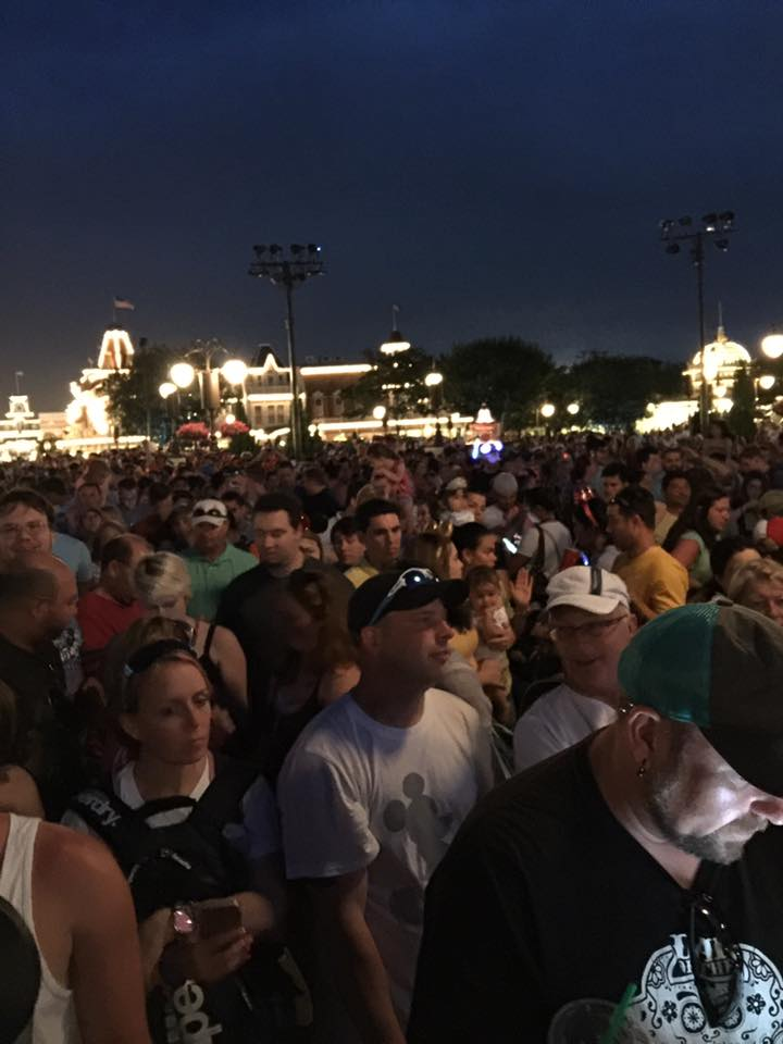 Happily Ever After Crowds ~ Get there Early! 3