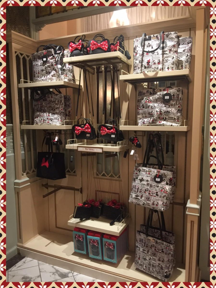 Kate spade disney line now available at the magic kingdom katespade well last night as i was leaving the magic kingdom we stopped into uptown jewelers on main street and low and behold they had the kate spade purses publicscrutiny Image collections