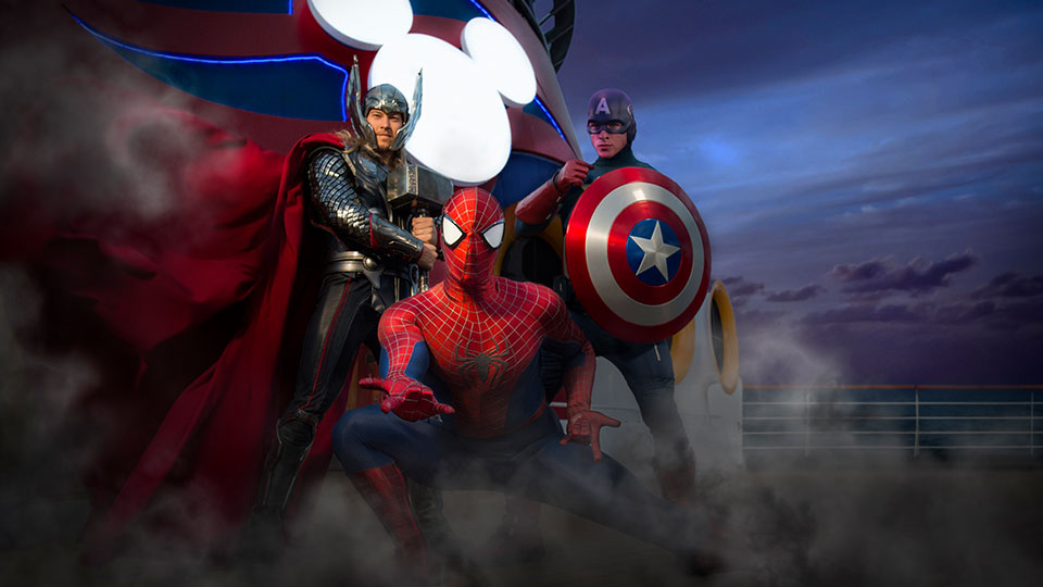 Meet 'Guardians of the Galaxy' Super Heroes on Marvel Day at Sea with Disney Cruise Line 1