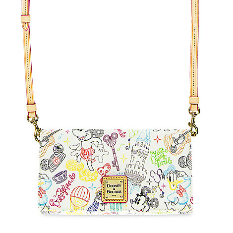 "NEW! Mickey and Minnie ""A Walk in the Park"" Design, Dooney and Bourke! 3"