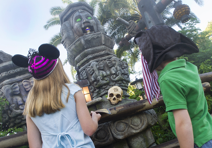 'A Pirate's Adventure ~ Treasures of the Seven Seas' at Magic Kingdom Park