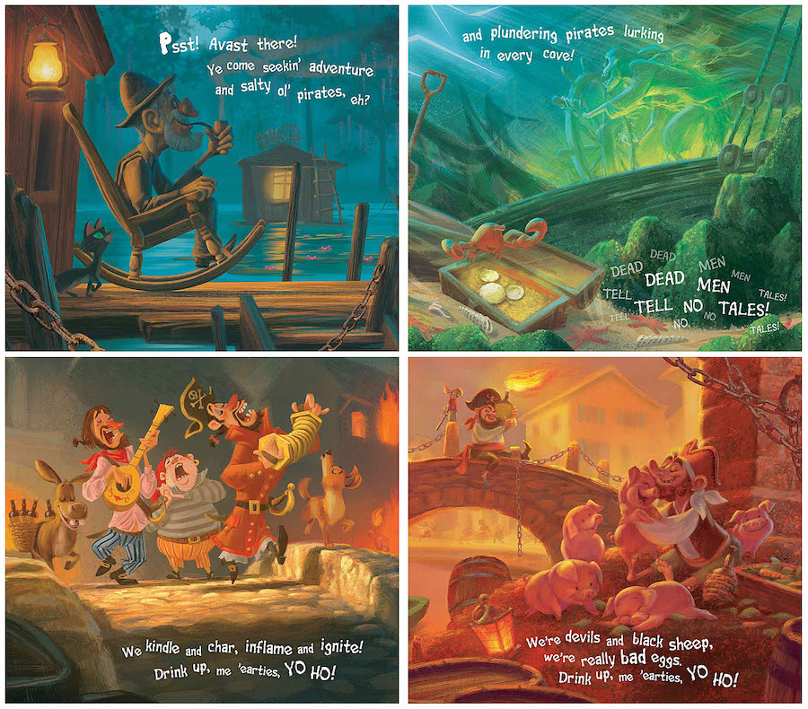 Pirates of the Caribbean Attraction Picture Book and CD Makes Landfall at Disney Parks 15