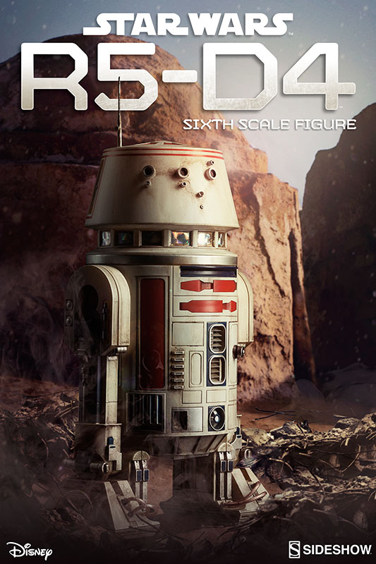 Product Review: Star Wars R5-D4 Sixth Scale Figure From SIDESHOW 1