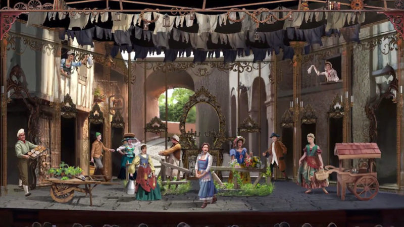 More Details About the Beauty and the Beast Stage Show on the Disney Dream! 31