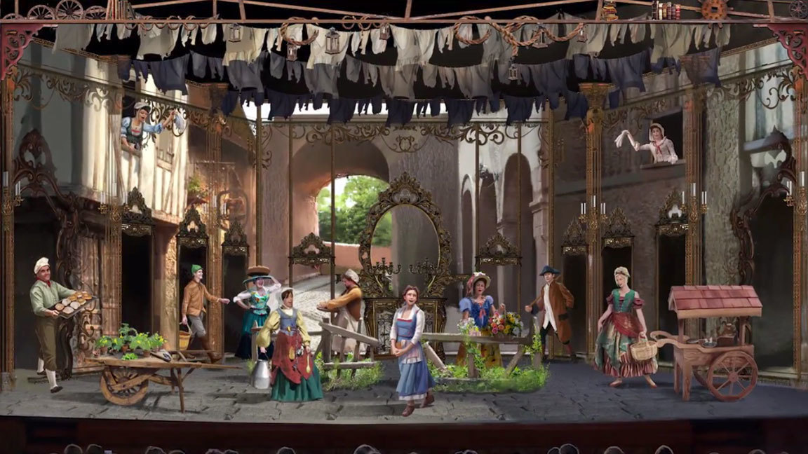 More Details About the Beauty and the Beast Stage Show on the Disney Dream! 2