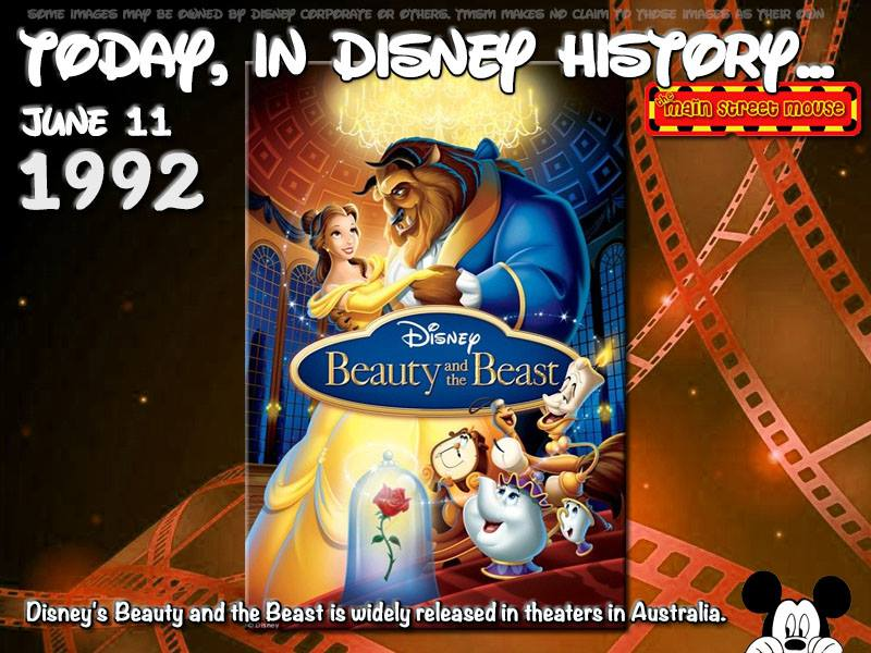 Today In Disney History ~ June 11th 1
