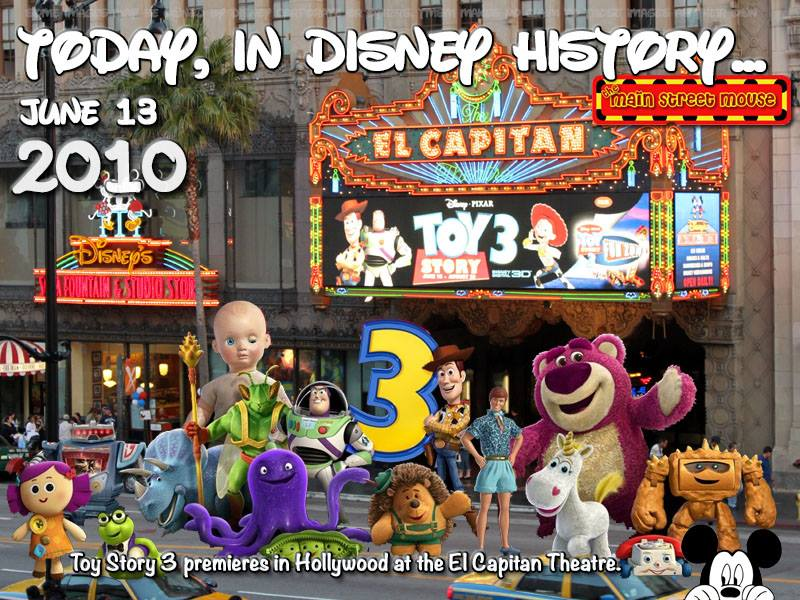 Today In Disney History ~ June 13th 2