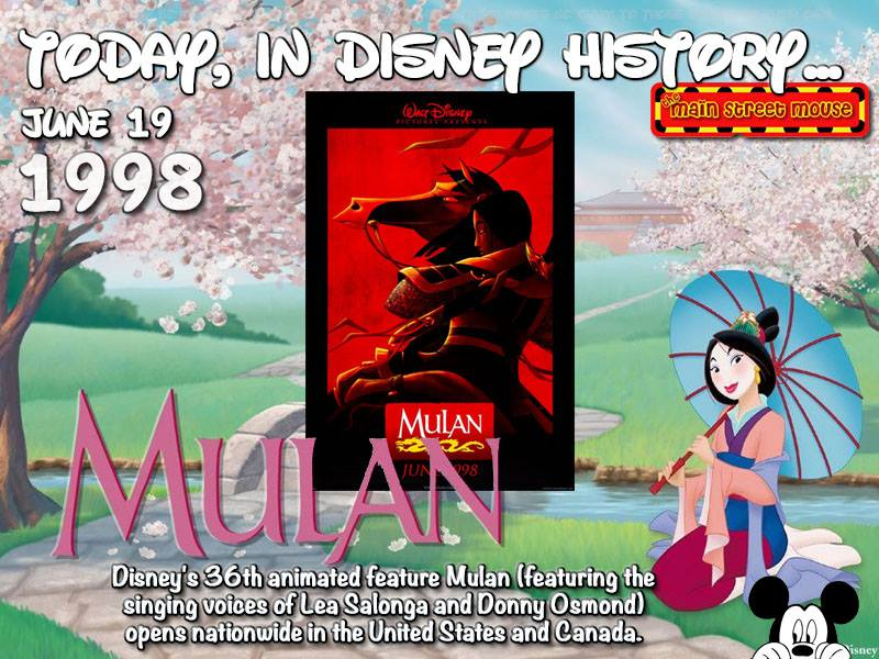 Today In Disney History ~ June 19th 5