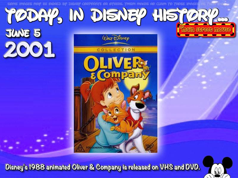 Today In Disney History ~ June 5th 3