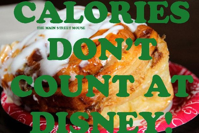 Calories DO Count At Disney 1