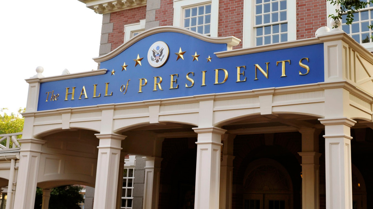 Latest on Enhancement to The Hall of Presidents at Magic Kingdom Park 1