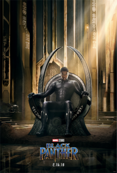The New Teaser Poster for Marvel's Black Panther is HERE! 3