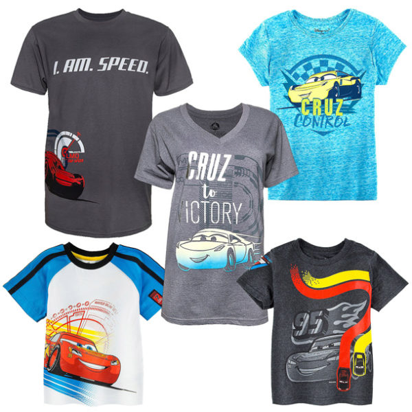 Colorful New Products for Disney•Pixar's 'Cars 3' Cruise into Disney Parks