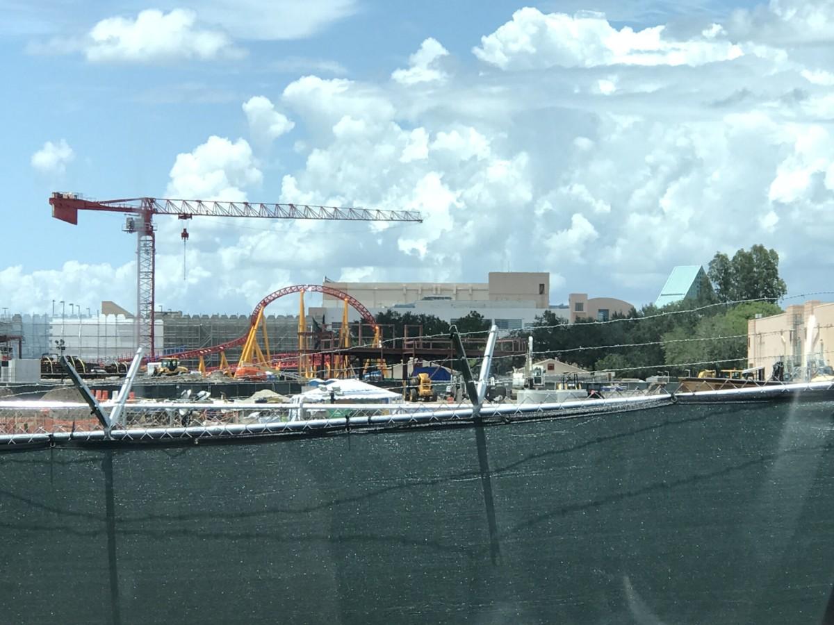 Construction Updates at Disney's Hollywood Studios (Photos) 3