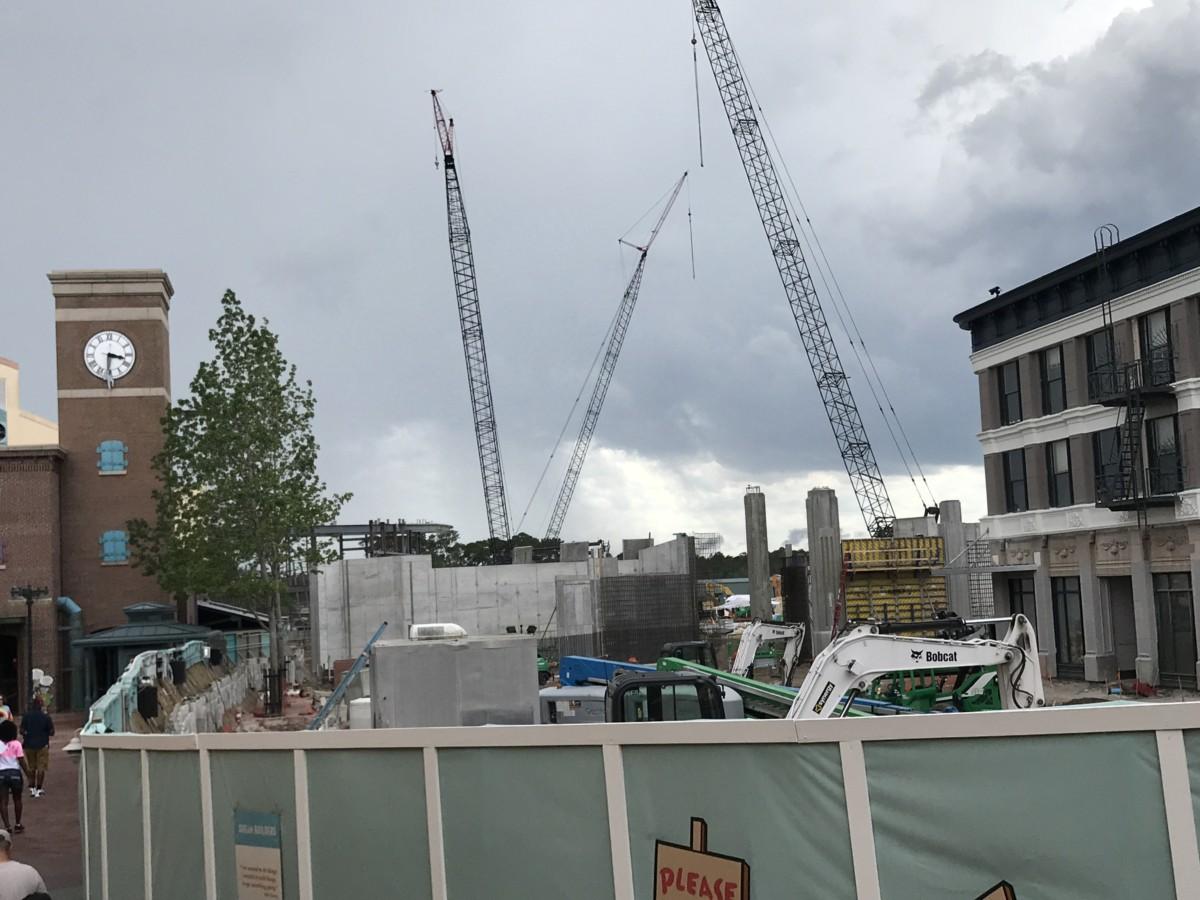 Construction Updates at Disney's Hollywood Studios (Photos) 2