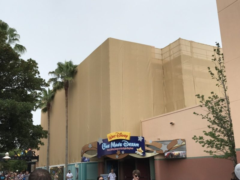 Construction Updates at Disney's Hollywood Studios (Photos) 1